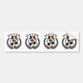 Romania Soccer 2016 Fan Gear Bumper Sticker