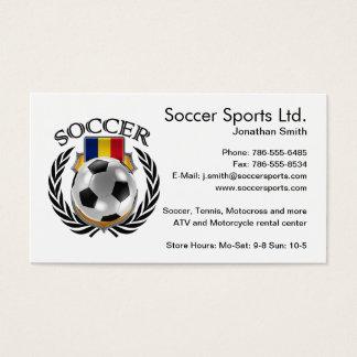 Romania Soccer 2016 Fan Gear Business Card