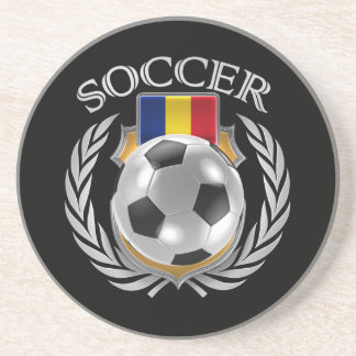 Romania Soccer 2016 Fan Gear Coaster
