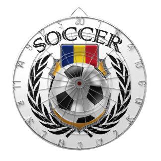 Romania Soccer 2016 Fan Gear Dartboard