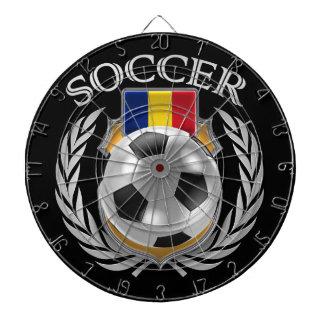 Romania Soccer 2016 Fan Gear Dartboards