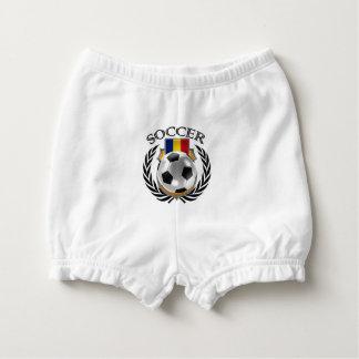 Romania Soccer 2016 Fan Gear Diaper Cover