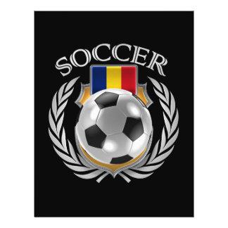 Romania Soccer 2016 Fan Gear Flyer