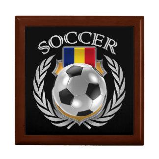 Romania Soccer 2016 Fan Gear Keepsake Box