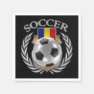 Romania Soccer 2016 Fan Gear Paper Napkin