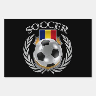 Romania Soccer 2016 Fan Gear Sign