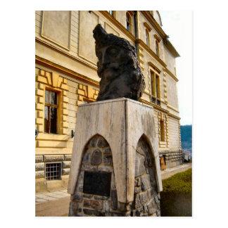 Romania, Statue of King Vlad Dracul, alias Dracula Postcard