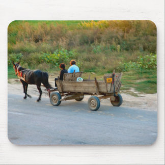 Romania, Traditional transport Mouse Pad