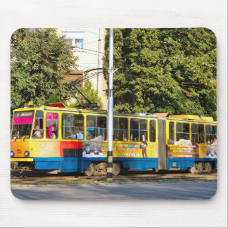 Romania, Travel by tram Mouse Pad