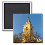 Romania, village church fridge magnets
