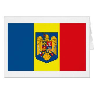 Romania w COA Greeting Card