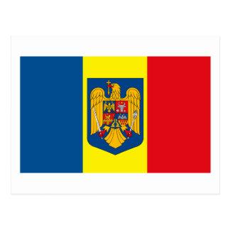Romania w COA Postcard