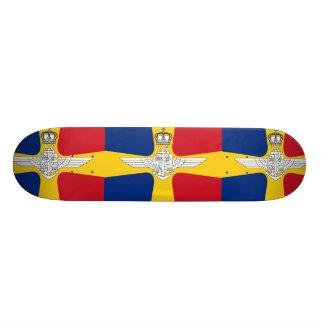 Romanian Air Transport And Marine Minister, Romani Custom Skate Board