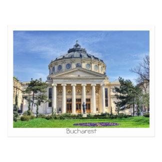 Romanian Atheneum Postcard