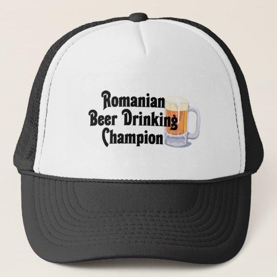 Romanian Beer Drinking Champion Trucker Hat