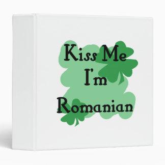 Romanian 3 Ring Binder