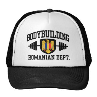 Romanian Bodybuilding Hats