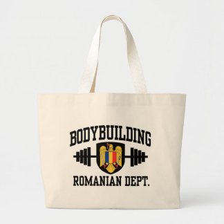 Romanian Bodybuilding Jumbo Tote Bag