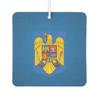 Romanian coat of arms car air freshener