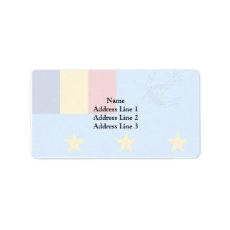 Romanian Deputy Chief Of Naval Staff, Romania Address Label