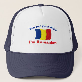 Romanian Dupa (with flag) Trucker Hat