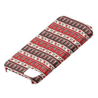 Romanian Embroidery pixelwork iPhone SE/5/5s Case