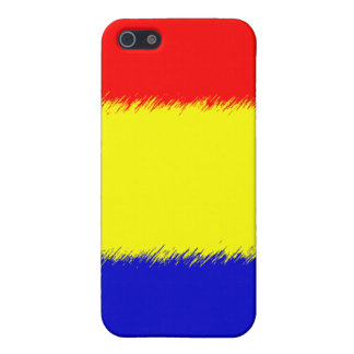 Romanian Flag iPhone SE/5/5s Cover
