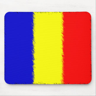Romanian Flag Mouse Pad
