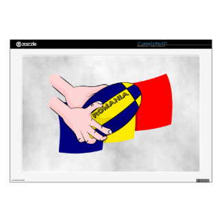 Romanian Flag Romania Rugby Supporters Decals For Laptops