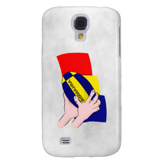 Romanian Flag Romania Rugby Supporters Galaxy S4 Case