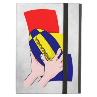 Romanian Flag Romania Rugby Supporters iPad Air Case