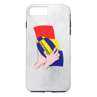 Romanian Flag Romania Rugby Supporters iPhone 8 Plus/7 Plus Case