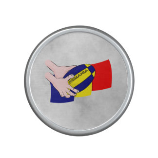 Romanian Flag Romania Rugby Supporters Speaker