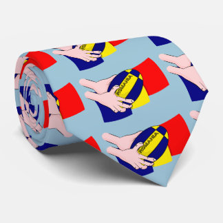 Romanian Flag Romania Rugby Supporters Tie
