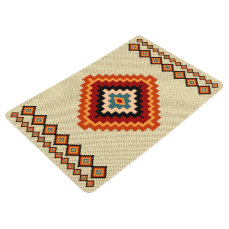 Romanian Folk Art - Ethnic Patterns Floor Mat