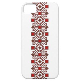 romanian folk costume stitch geometric floral art iPhone SE/5/5s case