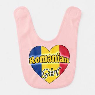 Romanian Girl Baby Bib