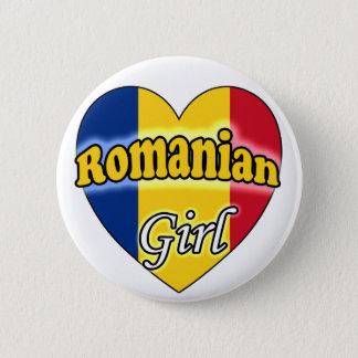 Romanian Girl Button