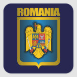 Romanian Gold Stickers