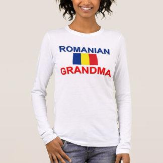 Romanian Grandma Long Sleeve T-Shirt
