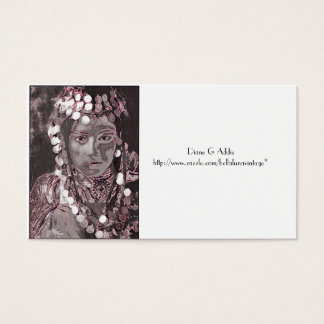 Romanian Gypsy Champagne Colors Business Card