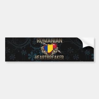 Romanian Heartbreaker Car Bumper Sticker