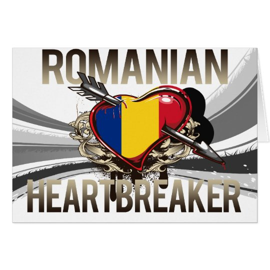 Romanian Heartbreaker Card