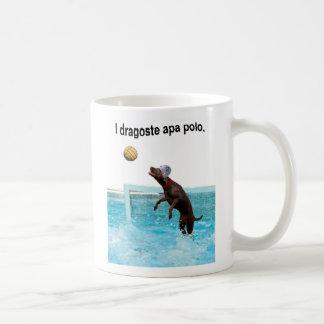 romanian I love water polo Mug