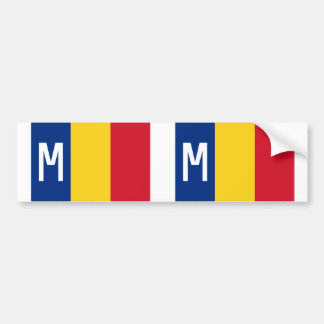 Romanian Minister Of National Defence, Romania Car Bumper Sticker