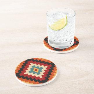 Romanian Motifs Drink Coasters