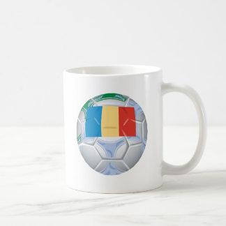 Romanian Soccer Ball Coffee Mug