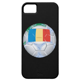 Romanian Soccer Ball iPhone SE/5/5s Case
