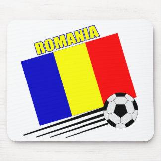 Romanian Soccer Team Mouse Pad