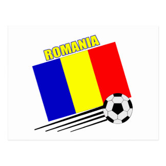 Romanian Soccer Team Postcard